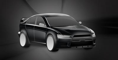 Mitsubishi Lancer Evolution Concept-X